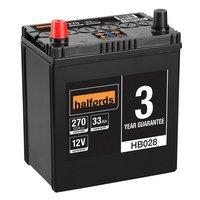 Halfords Lead Acid Battery HB028 - 3 Yr Guarantee