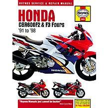 image of Haynes Honda CBR600F2 & F3 Fours (91 - 98)