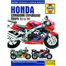 image of Haynes Honda CBR900RR FireBlade (92 - 99)