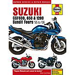 Haynes Suzuki GSF600 & 1200 Bandit Fours (95 - 01)