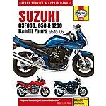 image of Haynes Suzuki GSF600 & 1200 Bandit Fours (95 - 01)