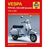 image of Haynes Vespa P/PX125, 150 & 200 Scooters (78 - 95)
