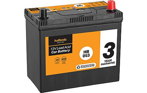 image of Halfords Lead Acid Battery HB053 - 3 Yr Guarantee