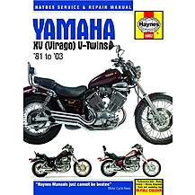 image of Haynes Yamaha XV V-Twins (81 - 96)