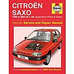 image of Haynes Citroen Saxo (96 - 04) Manual