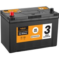 Halfords Lead Acid Battery HB334 - 3 Yr Guarantee