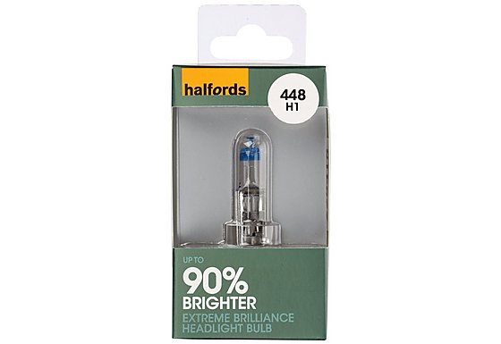Halfords Extreme Brilliance (HBU448EB) H1 Car Bulb x 1