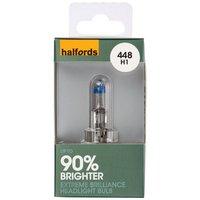 Halfords Extreme Brilliance (HBU448EB) H1 Car Bulb x 1