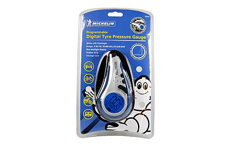 image of Michelin Programmable Digital Tyre Pressure Gauge