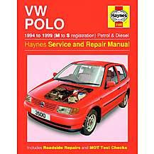 image of Haynes VW Polo Hatchback (94 - 99) Manual