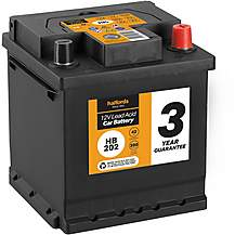 Halfords 3 Year Guarantee HB202 Lead Acid 12V