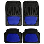 image of Type S Styled Car Mats - Blue Mesh