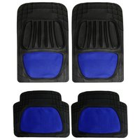 Type S Styled Car Mats - Blue Mesh