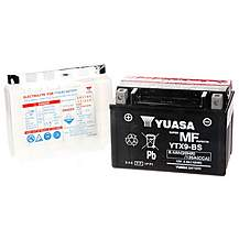 image of Yuasa YTX9-BS Powersport Motorcycle Battery