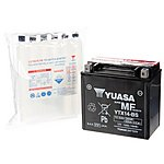 image of Yuasa YTX14-BS Powersport Motorcycle Battery