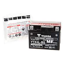 image of Yuasa YT4L/YT4L-BS Powersport Motorcycle Battery