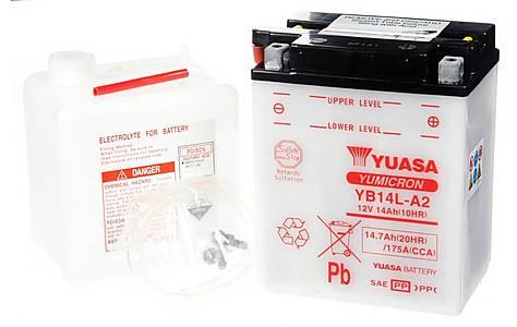 image of Yuasa YB14L-A2 Powersport Motorcycle Battery