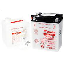 image of Yuasa YB14L-A2 Powersport Motorcycle Battery