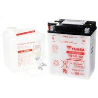 Yuasa YB14L-A2 Powersport Motorcycle Battery