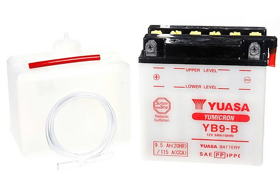 Yuasa YB9-B Powersport Motorcycle Battery