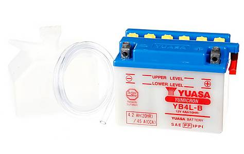 image of Yuasa YB4L-B Powersport Motorcycle Battery