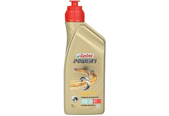 Castrol Power 1 4T 10W/30 Motorcycle Engine Oil - 1ltr