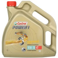 Castrol Power 1 4T 10W/30 Motorcycle Engine Oil - 4ltr