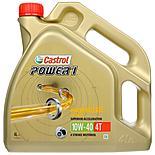 Castrol Power 1 4T 10W/40 Motorcycle Engine Oil - 4ltr
