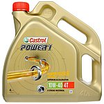 image of Castrol Power 1 4T 10W/40 Motorcycle Engine Oil - 4ltr
