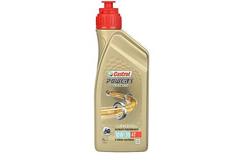 image of Castrol Power 1 Racing 4T 10W/30 Motorcycle Engine Oil - 1ltr