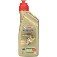 Castrol Power 1 Racing 4T 10W/40 Motorcycle Engine Oil - 1ltr