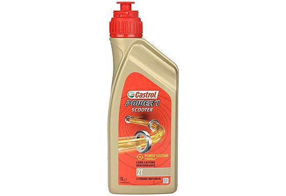 Castrol Power 1 Scooter 2T Scooter Engine Oil - 1ltr