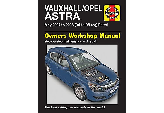 Haynes Vauxhall Astra (May 04 - 08) Manual
