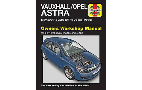 image of Haynes Vauxhall Astra (May 04 - 08) Manual