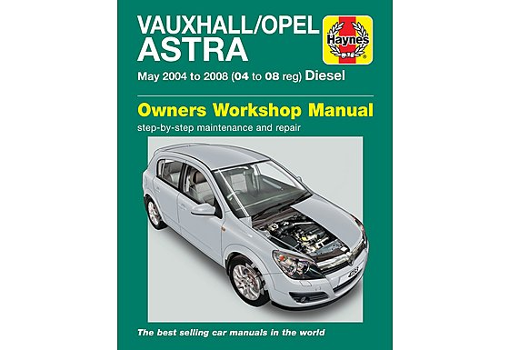 Haynes Vauxhall Astra Diesel (May 04 - 08) Manual