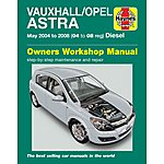 image of Haynes Vauxhall Astra Diesel (May 04 - 08) Manual