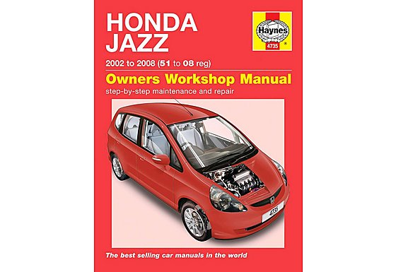 Haynes Honda Jazz (02 - 08) Manual
