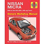 Haynes Nissan Micra (03 - Sept 07) Manual