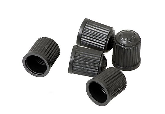 Halfords Plastic Dust Valve Caps x 5