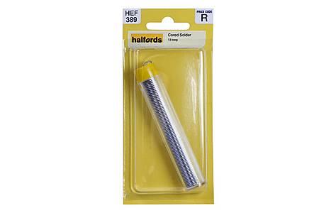 image of Halfords Cored Solder