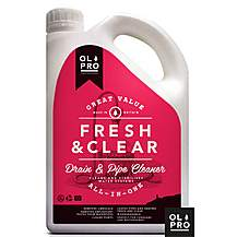 image of Olpro Fresh & Clear Drain & Fresh Water Pipe Cleaner 2 Litre