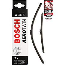 image of Bosch A539S Wiper Blades - Front Pair
