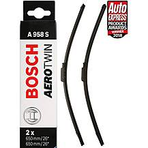 image of Bosch A958S Wiper Blades - Front Pair