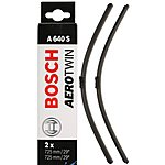 image of Bosch A640S Wiper Blades - Front Pair