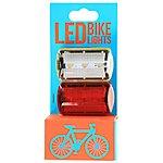 image of Halfords LED Bike Light Set