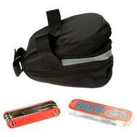 Halfords Saddle Bag with Repair Essentials