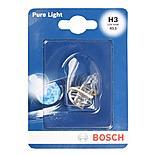 Bosch Single Halogen Spot Lamp Car Bulb 453 H3 x 1