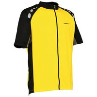 Boardman Mens Jersey - Yellow & Grey, X Small