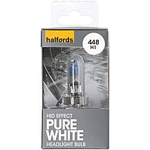 image of Halfords Xenon HID Style 4400K + 30 percent 448 Bulb
