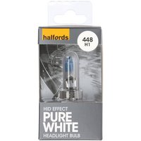 Halfords Xenon HID Style 4400K + 30 percent 448 Bulb